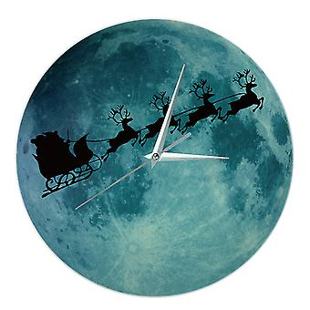 Noctilucent Simple Wall Clock Decorative