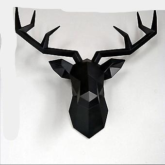 Deer Hanging Statue - Elk Abstract Sculpture