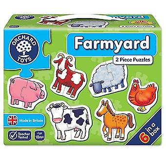Orchard Toys Farmyard Puzzles