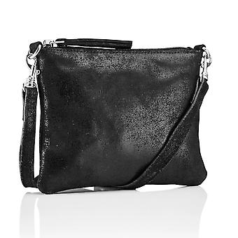 Hill & How Crossbody Pouch Bag | Black