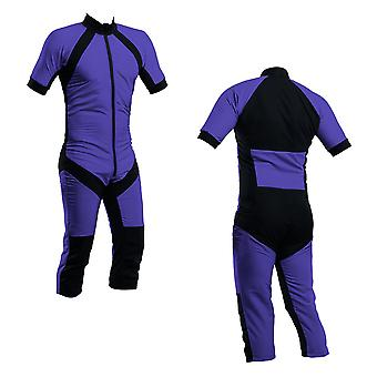 Skydiving summer suit purple s2-02