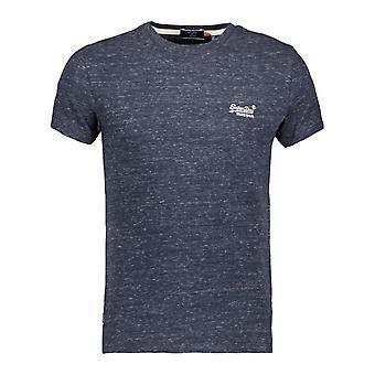 Superdry men's deepwater blue grit vintage t-shirt