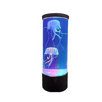 Fantasy Aquarium Usb Power Jellyfish Mood -desk Bedside Lamp