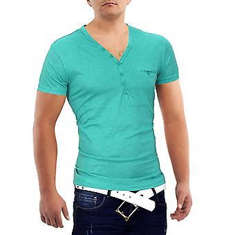 Menn California beach boy T-Shirt v Polo Club bærer skjorte Slim Bag