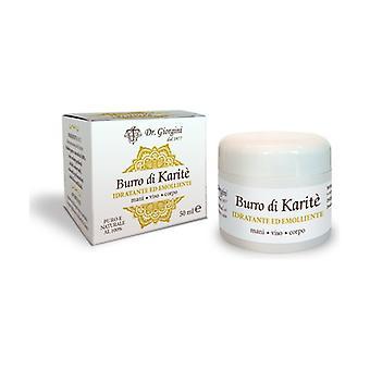 Burro di Karité cream for hands, face, body 50 ml of cream