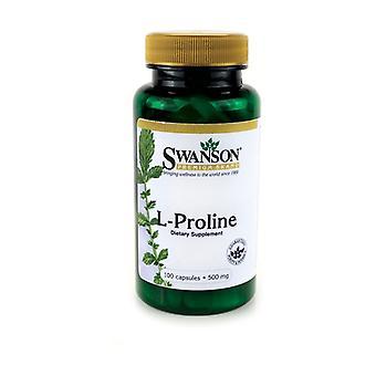 L-Proline 100 capsules of 500mg