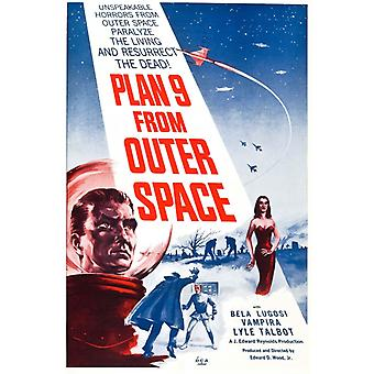 Plan 9 From Outer Space Movie Edward D Ed Wood Juliste Tulosta