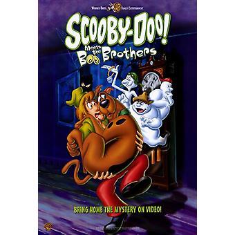 Scooby-Doo täyttää Boo Brothers Movie Juliste Tulosta (27 x 40)