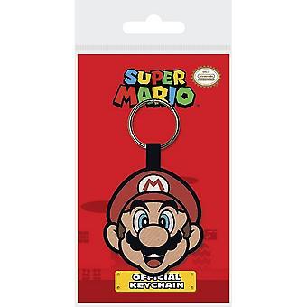 Porte-clés tissés Super Mario Face