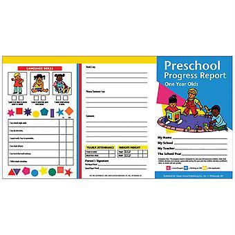 Preschool Progress Report (1 Year Olds)
