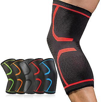 Elastische Kniepolster 1 Paar Nylon Sport Fitness Kneepad Fitness Gear Patella Brace Laufen Basketball Volleyball Unterstützung