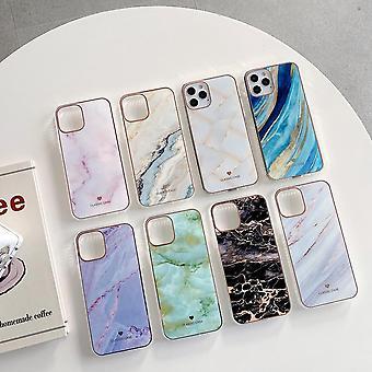 iPhone 12 Pro Max Shell w nieskończonych kolorach marmurowy wzór