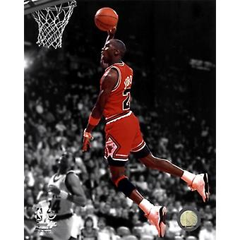 Michael Jordan 1990 Spotlight Action Sports Photo