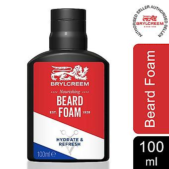 Brylcreem Hydrate and Refresh Cleansing Beard Foam with Nourishment, 100ml