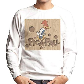 Woody pájaro carpintero Pica Pau Men's sudadera