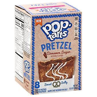 Kellogg's Pop Tarts Kaneli sokeri pretzel toaster leivonnaiset