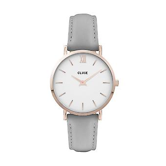 Cluse Unisex Minuit Rose Gold Circle Quartz Fashion Watch CW0101203010