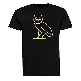 Ovo T-Shirt Col Rond Originele Uil