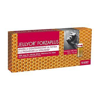 Jellyor Forzaplus 20 ampoules of 10ml