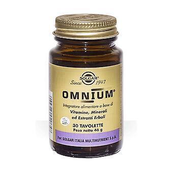 Omnium 30 tablets