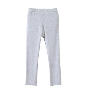 Pantalones suaves elásticos y delgados de algodón hasta el tobillo