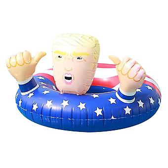 Inflatable Swimming Ring, Water Hammock Recliner Floating Mattress