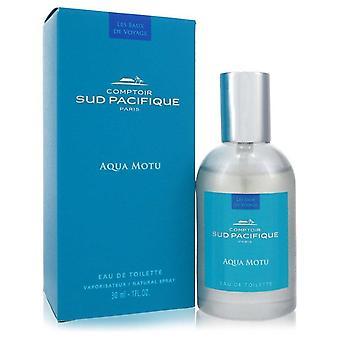 Aqua Motu Eau De Toilette Spray By Comptoir Sud Pacifique 1 oz Eau De Toilette Spray