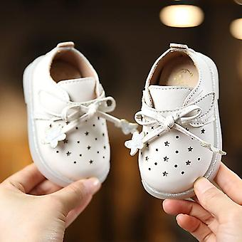 طفل قطع التدريجي الطفل بو أحذية جلدية، لطيف نجمة بيبي فستان الأحذية