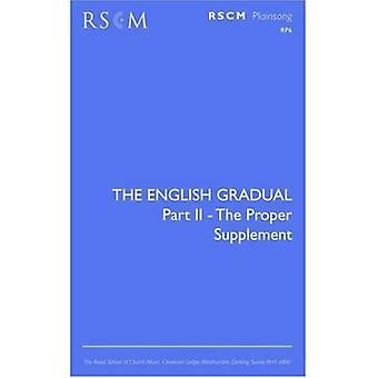 Den engelske gradvis supplement