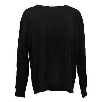 All Worthy Hunter McGrady Women's Pullover Sweatshirt Black A387047