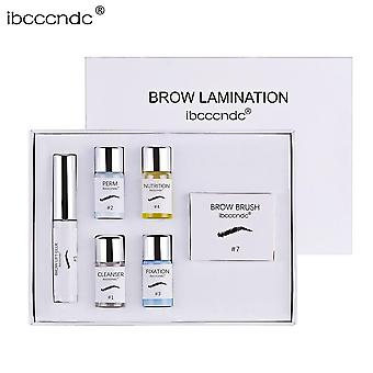 Kit semi-permanent de lamination des sourcils de lifting des sourcils