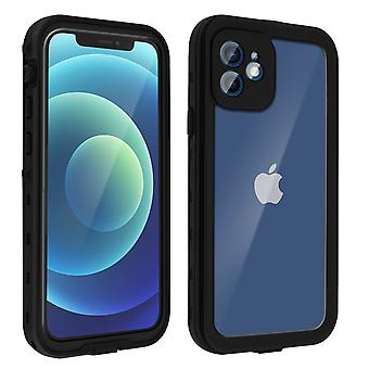 Protective Case for Apple iPhone 12/12 Pro Waterproof Screen protector black