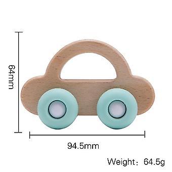 Vauva lelu, Pyökki puu lohkot, Sarjakuva auton koulutus Montessori, Hampaiden, Pelata