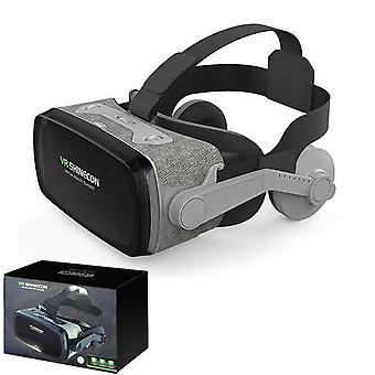 2019グーグル段ボールVRシャインコン9.0プロバージョンVRバーチャルリアリティ3Dメガネ+スマートブルートゥースワイヤレスリモコンゲームパッド