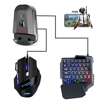 Pubg Mobile Bluetooth 5.0 Gamepad Controller Usb Gaming Keyboard Mouse