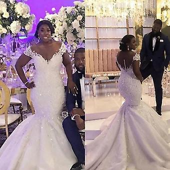 African Bride Mermaid Wedding Dresses