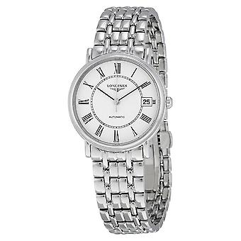 Longines Presence Automatic White Dial Men's Watch L4.821.4.11.6