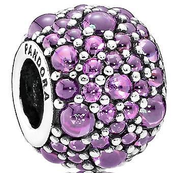 PANDORA Shimmering Droplets Charm - Fancy Purple CZ - 791755CFP