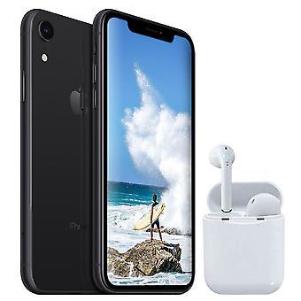 iPhone XR Black 64GB + Wireless Headphones