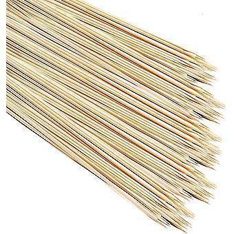 100 XXL 90cm Lagerfeuer Grillspiee, Holzspiee, Bambusspiee| Extra Lang, Dick, Gro & Stabil - Ohne