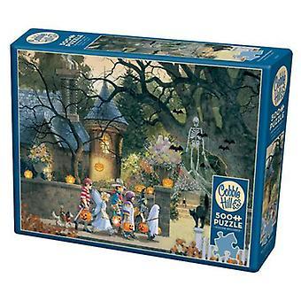 Cobble hill puzzle - haqlloween friends - 500 pc