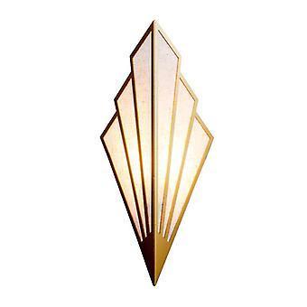 Europäischer Stil LED Bedside Wandleuchte (Golden)