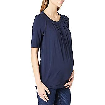 Mamalicious MLNEWBROOKLYN Iris 2/4 Jersey Top 2F A. T-Shirt, Marine Blue Blazer, S Woman