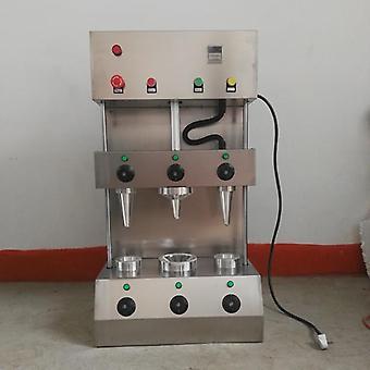 Máquina de cono de pizza de acero inoxidable / horno / fabricante de mano dulce