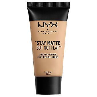 NYX Professional Make Up NYX Stay Matte Men NotFlat Liquid Foundation 35ml Naken 02