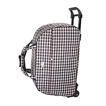 Kvinnor & män reser resväska med hjul mode vattentät bagageväska