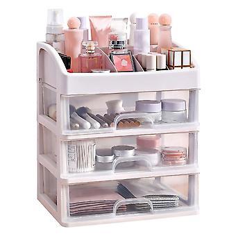 Kerros meikki sivellin laatikko säilytyslaatikko