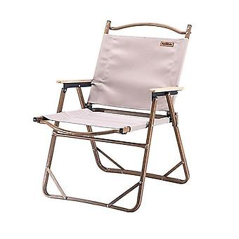 Kannettava kompakti raskas alumiiniseos taitettava tuoli