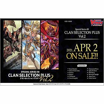 Cardfight Vanguard Special Series 8 Clan Selection Plus Vol.2 Booster Box (12 Packs)
