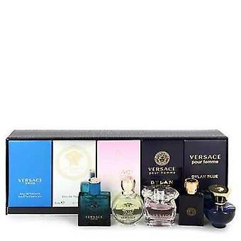 Versace Eros By Versace Gift Set - Versacen paras miesten ja naisten miniatyyrikokoelma Inc V728-550241